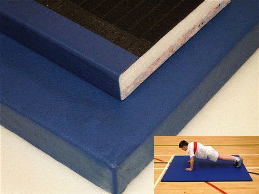 blended midweight gym mats