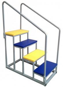 Wheelaway Safer Handrail Steps